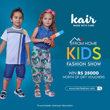 Kair Kids Fashion Show.....From Home!