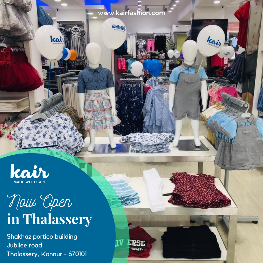 Kair Thalassery Store is Now Open!
