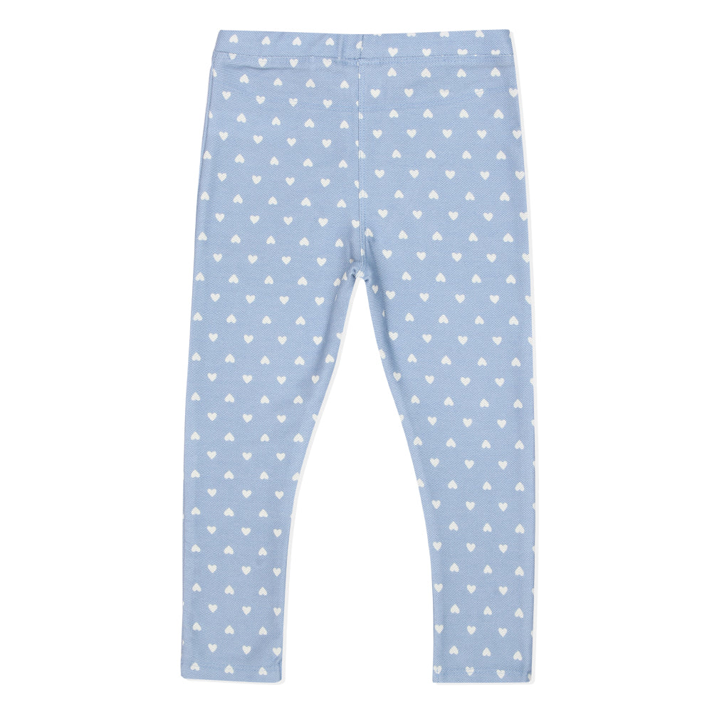 Baby Girls Printed Jeggings