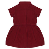 Baby Girls Maroon Dress