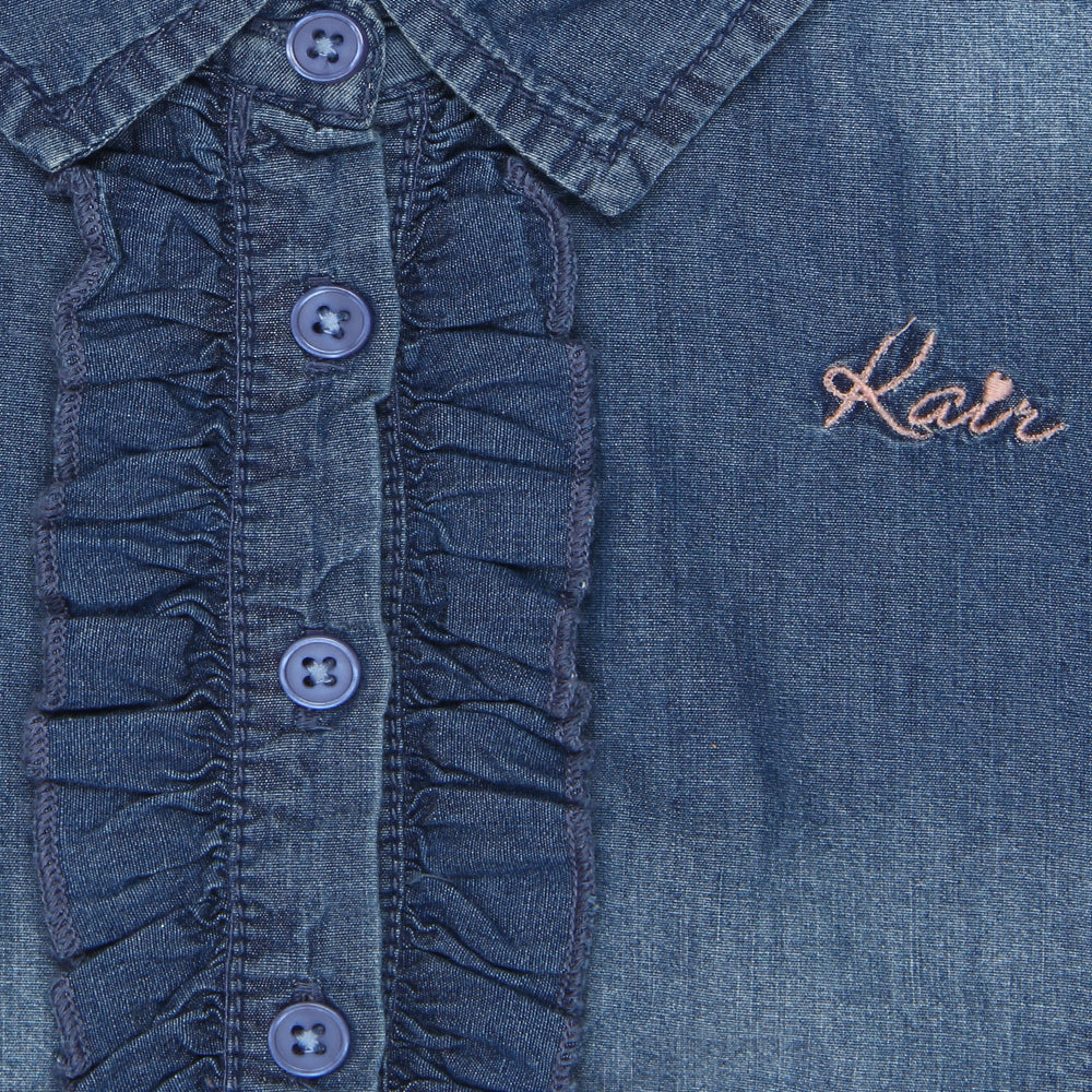 Kid Girls Denim Shirt dress