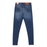 Kid Boys Dark Denim Skinny Pant