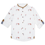 Kid Boys Printed Shirt