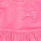 Baby Girls Pink Corduroy Dress