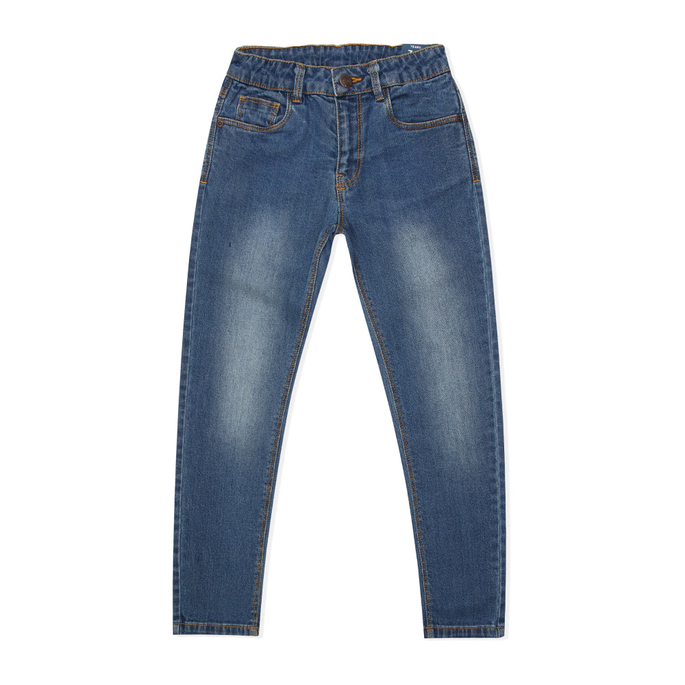 Kid Boys Navy Skinny Denim Pant