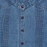 Baby Girls Denim Top