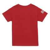 Baby Boys Graphic Maroon T-Shirt