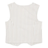 Kid Boys Classic Stripe Waist Coat