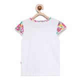 Baby Girls Cap Sleeve Top