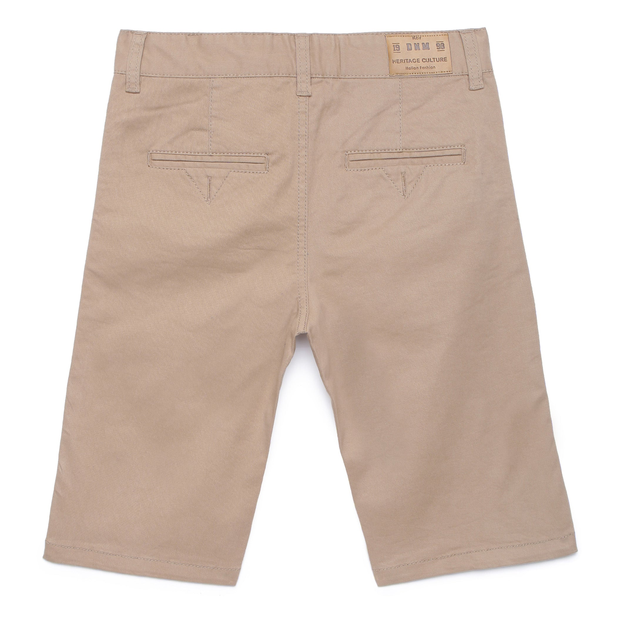 Kid Boys Khaki Bermuda