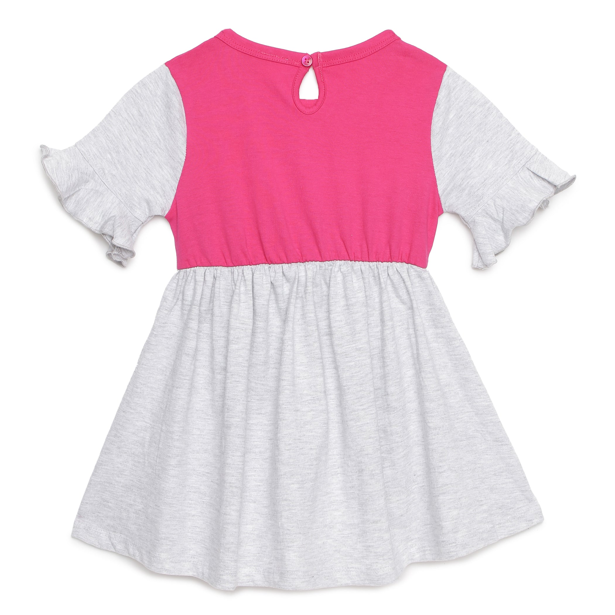 Girls Special Yoke Panel Dress