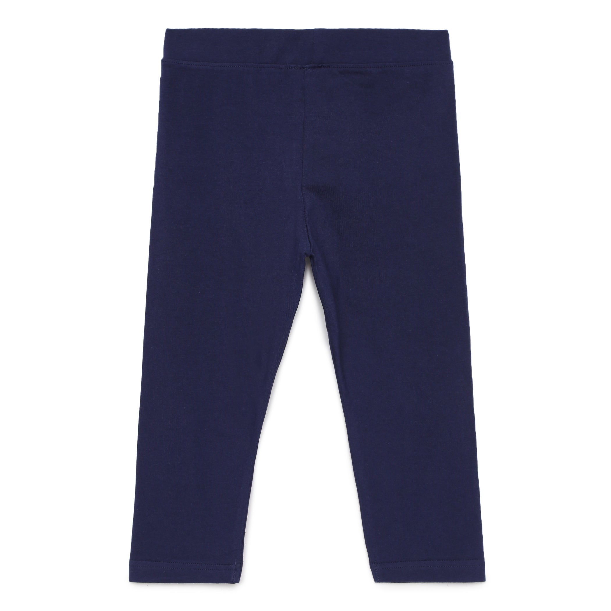 Kids Girls Solid 3/4th Leggings