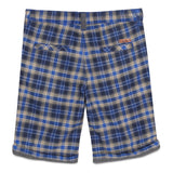 Baby Boys Blue Check Shorts