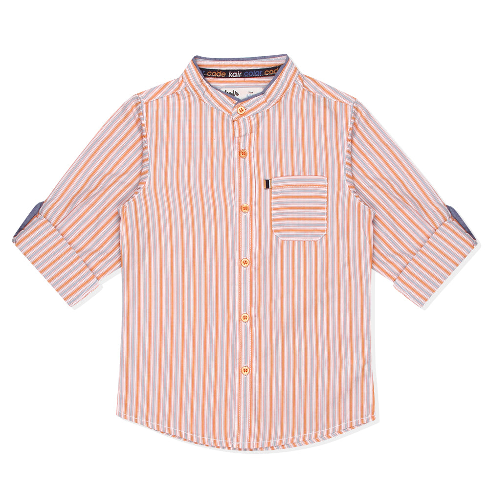 Kid Boys Stripe Shirt
