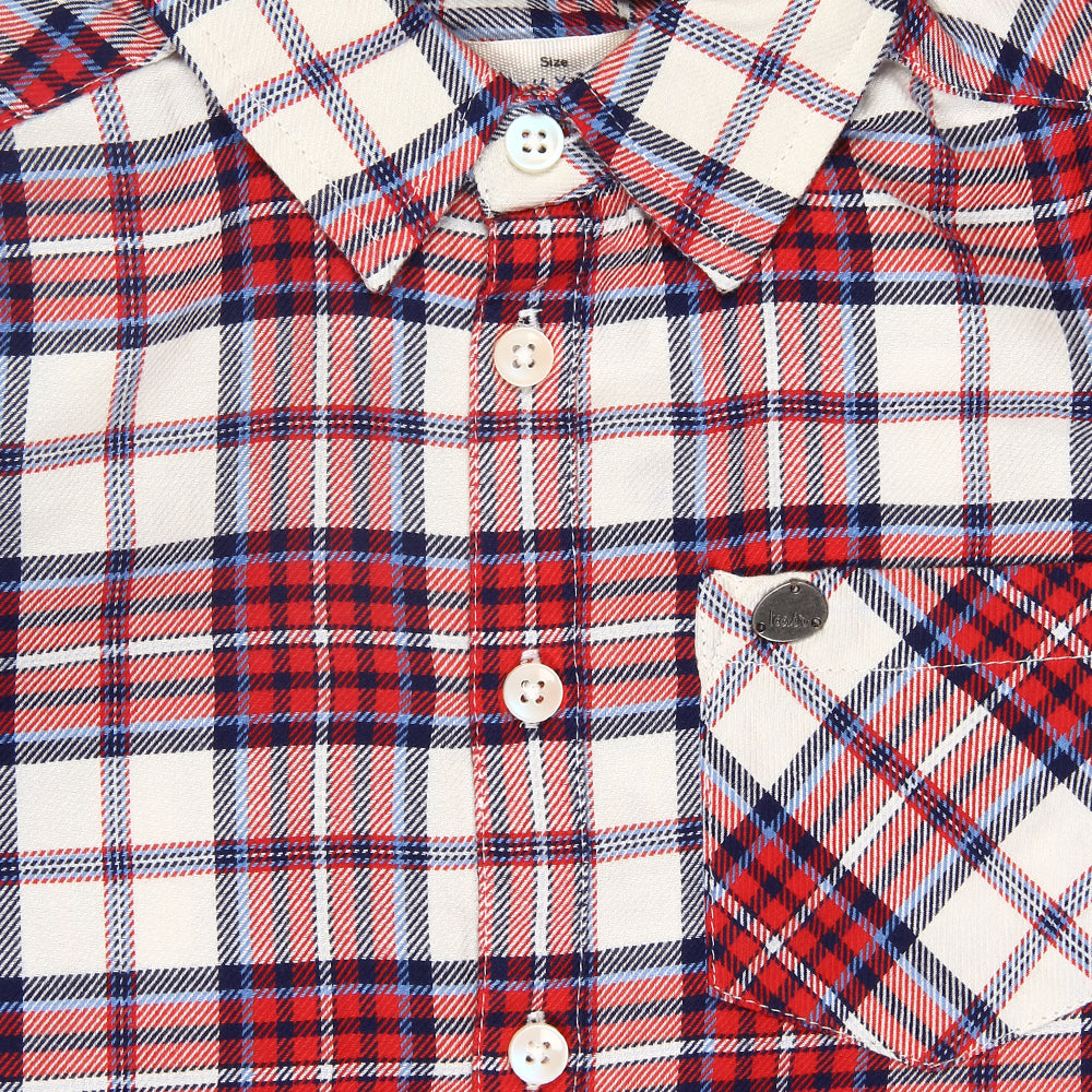 Kid Boys Check Shirt