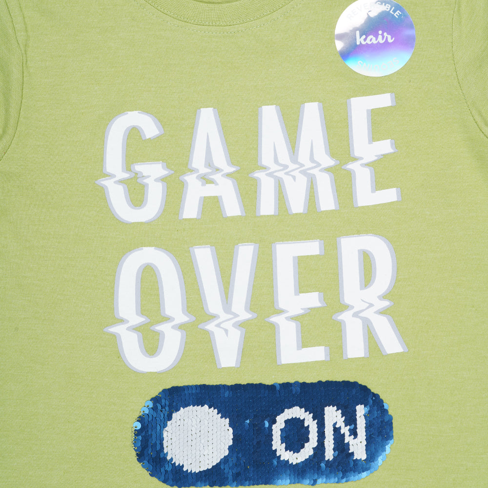 Kid Boys Game Over T-Shirt