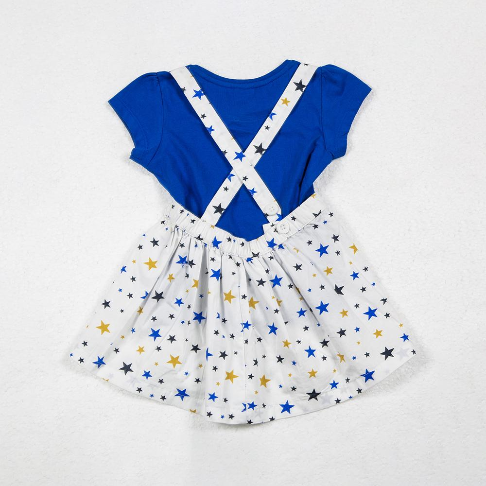 Baby Girls Suspender Short Skirt with Inner Top.