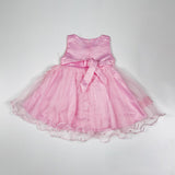 Baby Girls Pink Party Dress