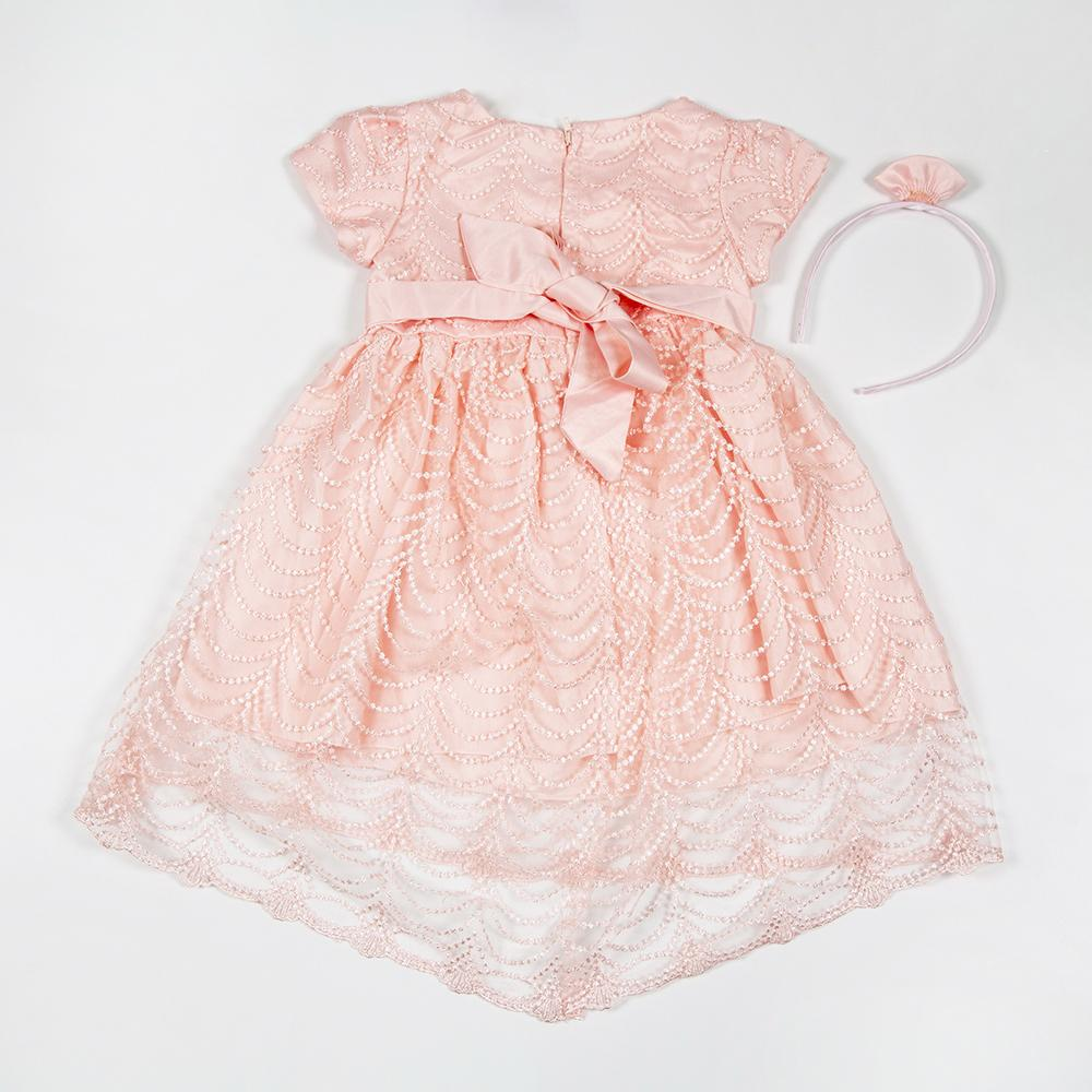 Baby Girls Party Dress with hair band