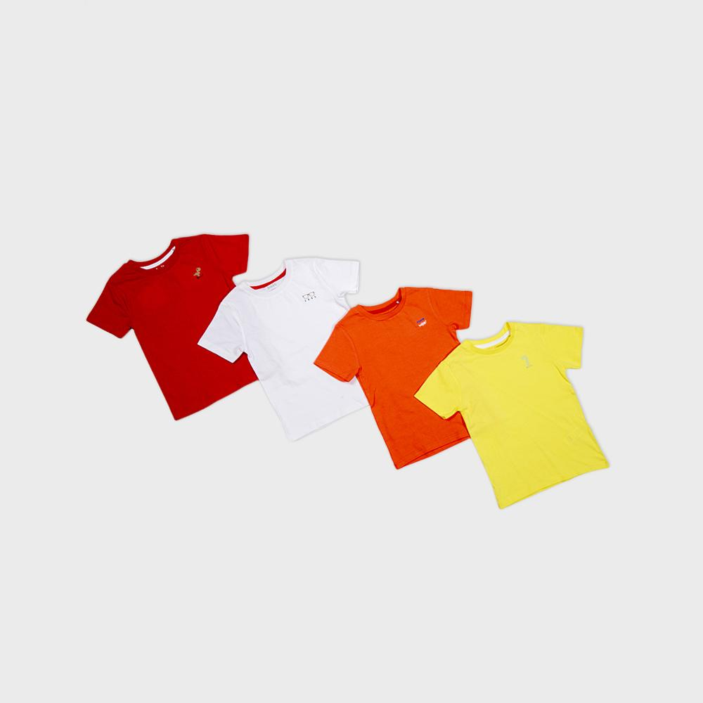 Baby Boys R/N H/S T- Shirt - Buy 3 Get 1 Free - Bundle Offer