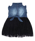 Baby Girls Denim Party dress
