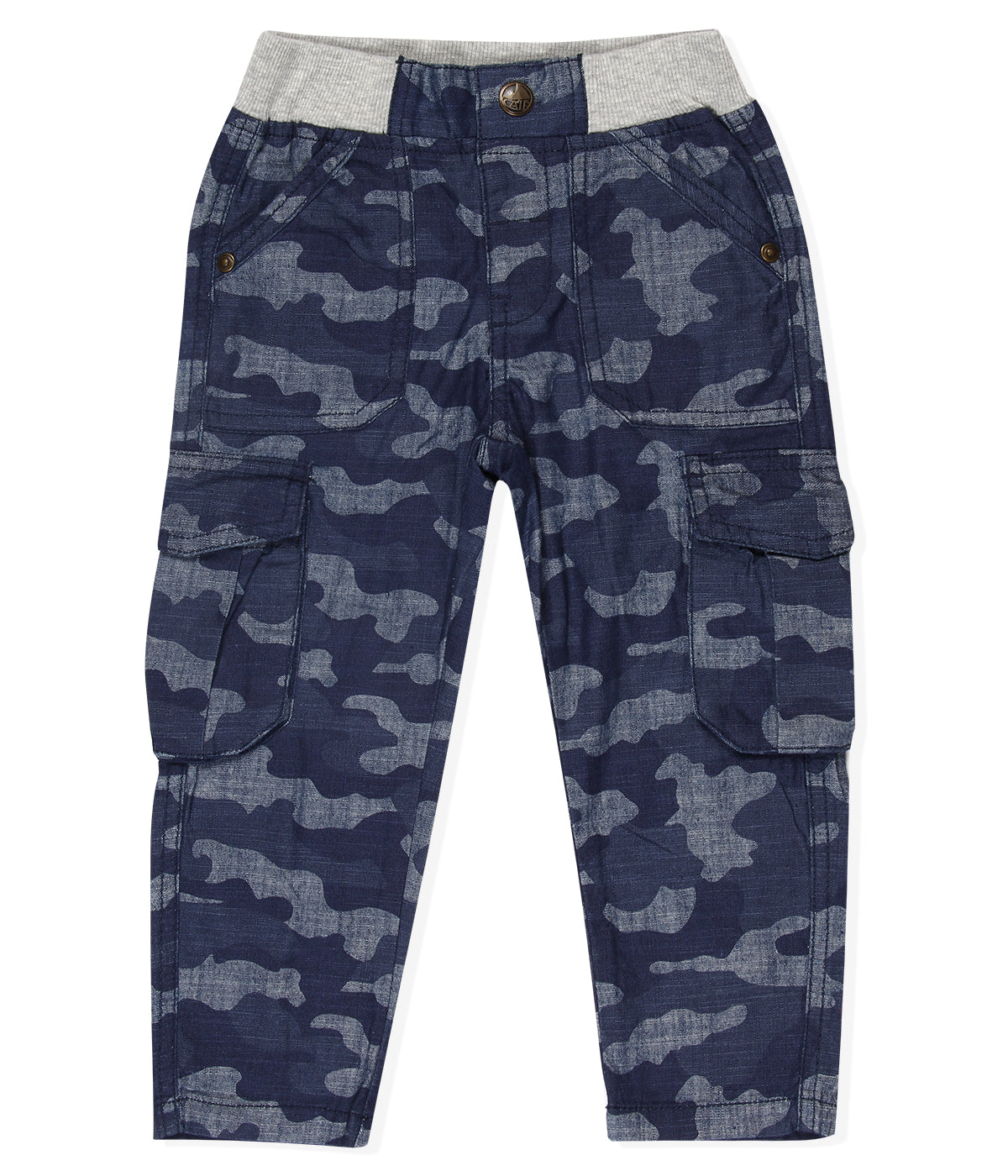 Baby Boys Pull on Camo Jeans