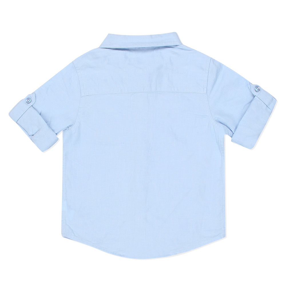 Baby Boys Shirt With Bow