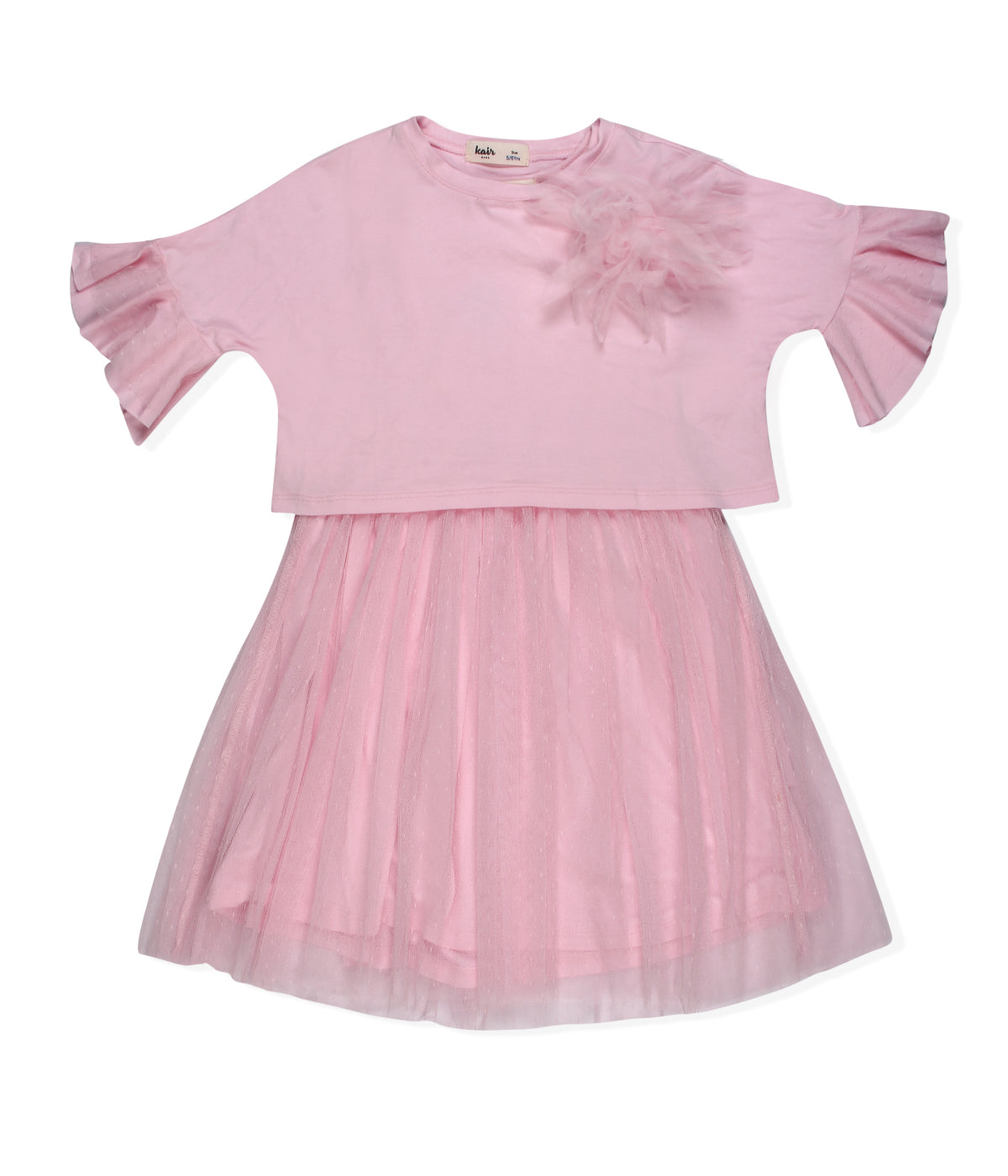 Baby Girls Party dress with crop top