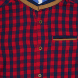 Kid Boys Gingham Check Shirt