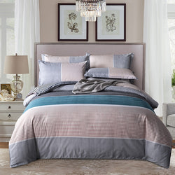 Simple Classic Queen bedding set 5 size bed linen 4pcs/set duvet cover set Pastoral bed sheet AB side duvet cover 2019 bed