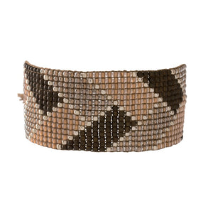 Armband Rookkwarts zilver Willow