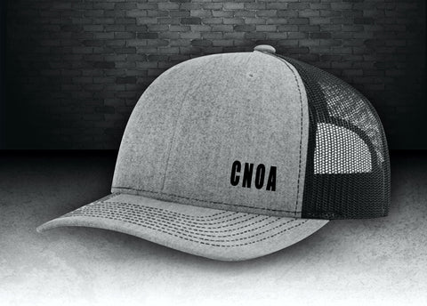 CNOA Richardson Snap Back Trucker Hat - Heather Grey/Black
