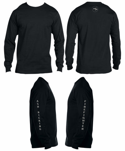 Ash Kicking Firefighter Long Sleeve Thermal