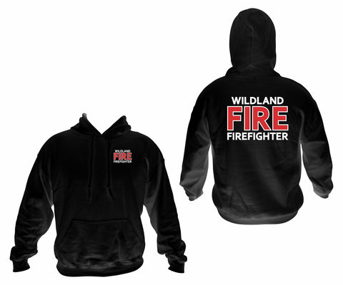Wildland Firefighter Pullover Hooded Sweatshirt