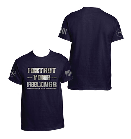 CNOA Foxtrot Your Feelings Men's Next Level Premium Fitted CVC Crew Tee