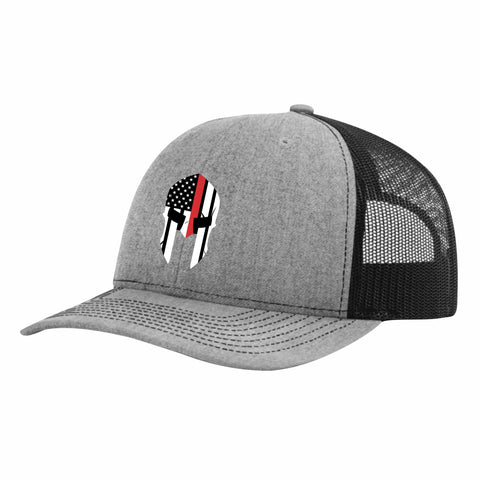 Red Line Spartan Truckers Hat