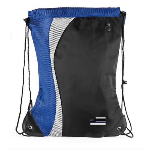Blue Line Back Pack