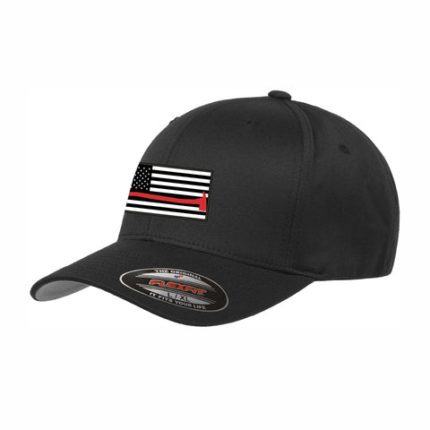 Flexfit Red Line Hat