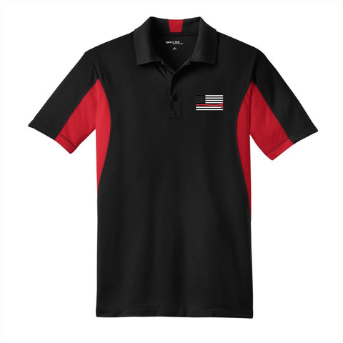 Men's Red Line Performance Sport Polo
