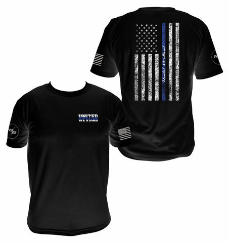 Men's Blue Line United We Stand T-shirt