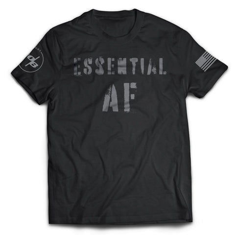 Essential AF Men's Next Level Premium Fitted CVC Crew Tee