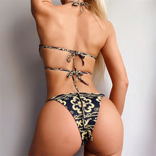 Load image into Gallery viewer, Bandage Two Piece Thong
