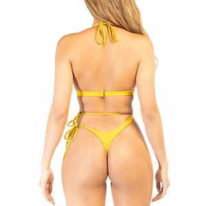 Brazilian one piece hollow out swimwear