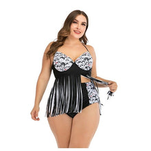 Load image into Gallery viewer, Plus Size Two Piece Swimsuit