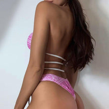 Load image into Gallery viewer, Pink Bandanna Swimsuit