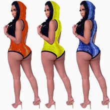 Load image into Gallery viewer, Sleeveless Hollow Out Swimwear Swimsuit Bodysuit
