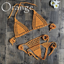 Load image into Gallery viewer, Handmade Crochet Micro Bikini G Thong String Beach Micro Swimwear