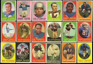 1958 Topps Football Card for Sale - Complete Set Break - Purchase a Single Random Spot (Possible Jim Brown Rookie Card!)