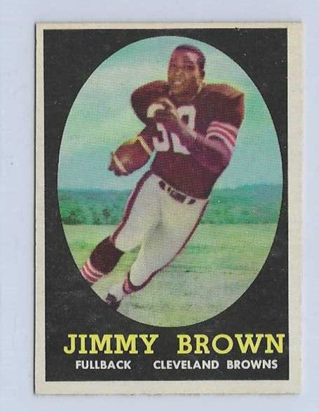 1958 Topps Football Complete Set Break Single Random Spot (Possible Jim Brown ROOKIE CARD!)