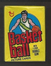 1978-79 Topps Basketball Single Pack for Sale from a Box Break